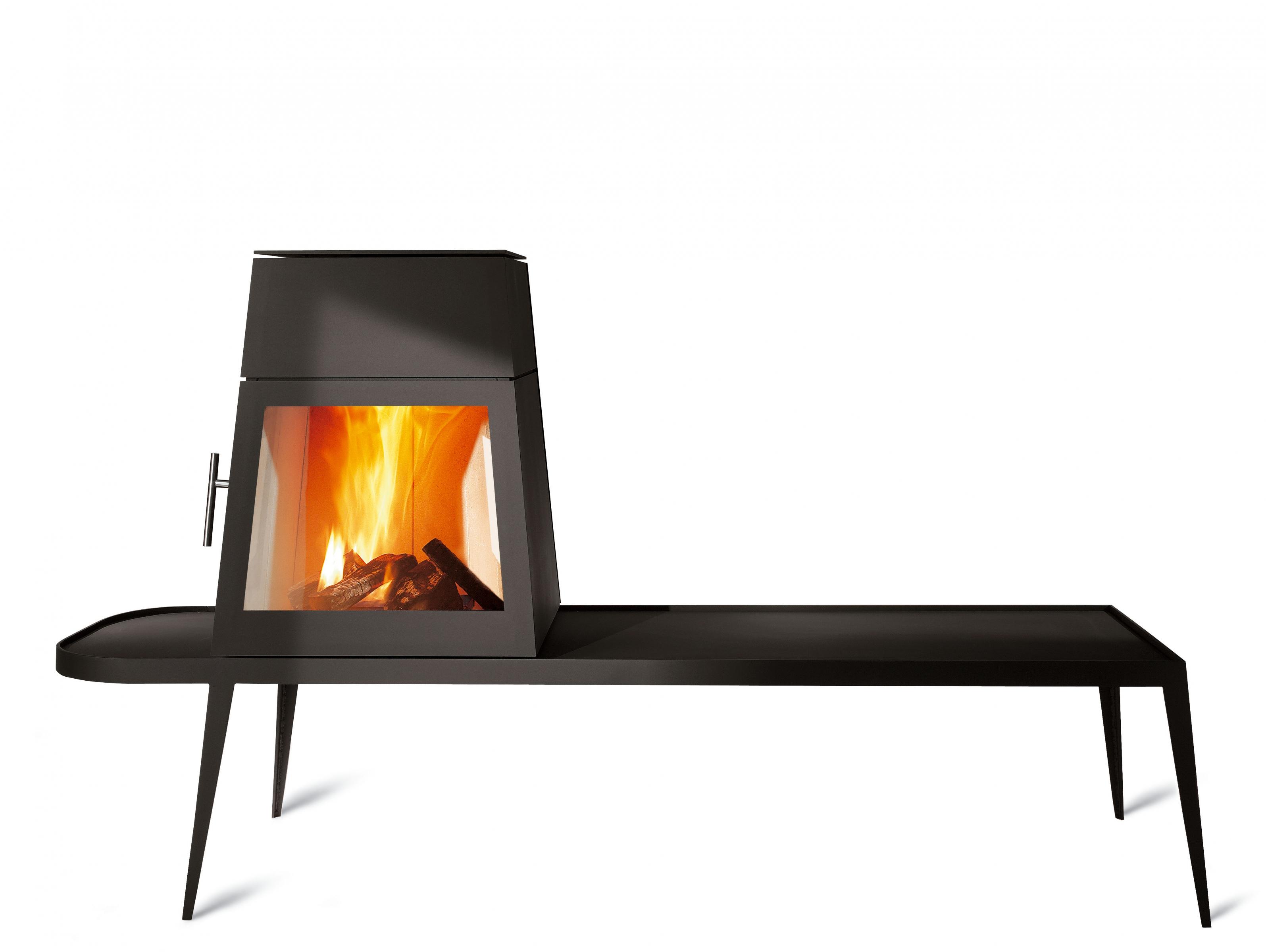 shaker r f chauffage po les bois design espace po le scandinave. Black Bedroom Furniture Sets. Home Design Ideas