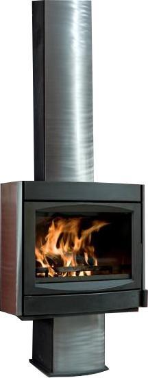 wandecco 2000 r f chauffage po les bois po le bois encastrable. Black Bedroom Furniture Sets. Home Design Ideas