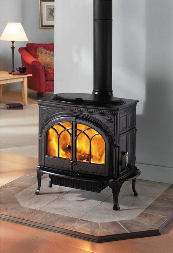 jotul f600 r f chauffage po les bois po le bois tout fonte espace po le scandinave. Black Bedroom Furniture Sets. Home Design Ideas