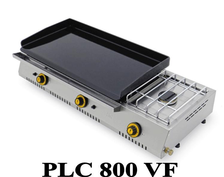 Plancha gaz avec r chaud fainca plc 800 r f - Plaque plancha pour barbecue gaz ...