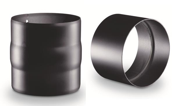 manchon m le m le ou femelle femelle r f conduits de fum e tuyau simple paroi tuyau. Black Bedroom Furniture Sets. Home Design Ideas